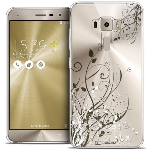 "Coque Crystal Gel Asus Zenfone 3 ZE552KL (5.5"") Extra Fine Love - Hearts Flowers"