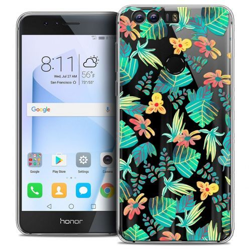 """Coque Crystal Gel Huawei Honor 8 (5.2"""") Extra Fine Spring - Tropical"""