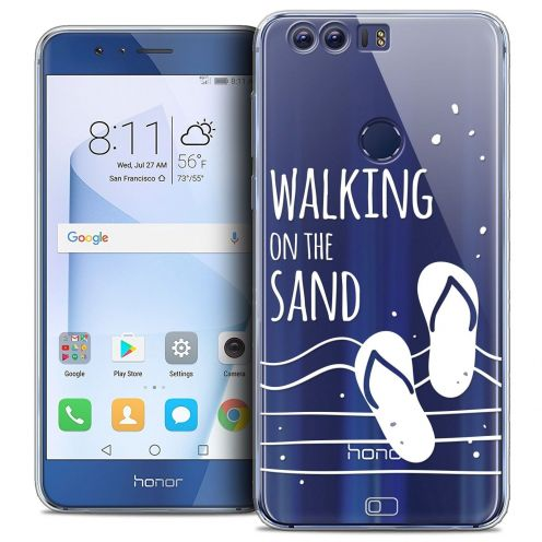 """Coque Crystal Gel Huawei Honor 8 (5.2"""") Extra Fine Summer - Walking on the Sand"""