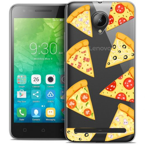 "Coque Crystal Gel Lenovo C2 K10A40 (5"") Extra Fine Foodie - Pizza"