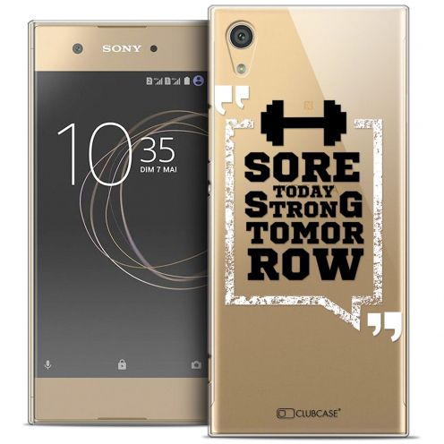 "Coque Crystal Rigide Sony Xperia XA1 (5"") Extra Fine Quote - Strong Tomorrow"