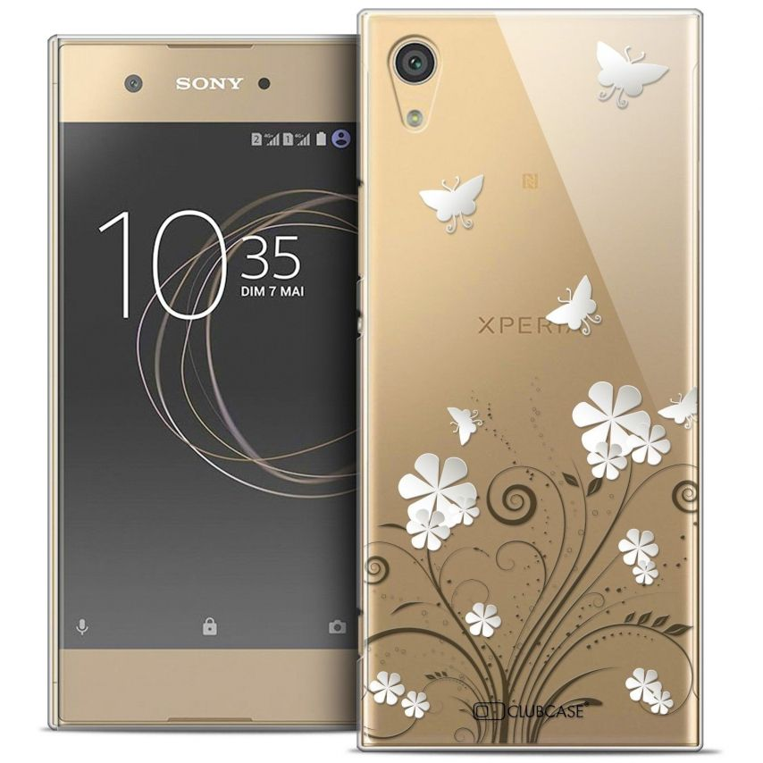 "Coque Crystal Rigide Sony Xperia XA1 (5"") Extra Fine Summer - Papillons"