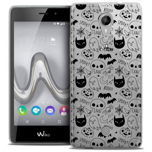 """Coque Crystal Gel Wiko Tommy (5"""") Extra Fine Halloween - Spooky"""