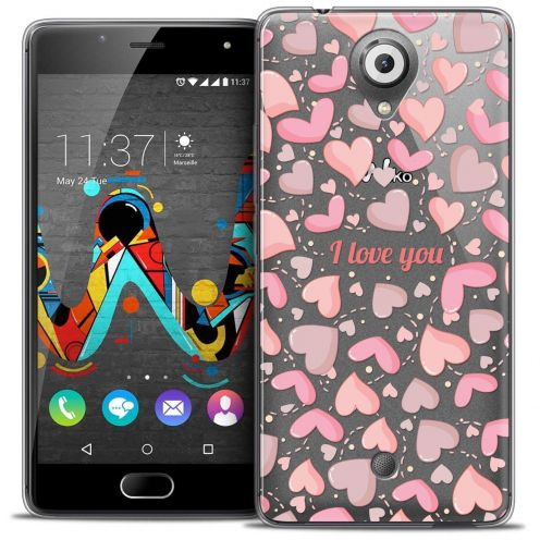 "Coque Crystal Gel Wiko U Feel (5"") Extra Fine Love - I Love You"