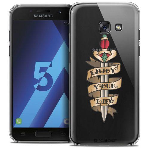 Coque Crystal Samsung Galaxy A5 2017 (A520) Extra Fine Tatoo Lover - Enjoy Life