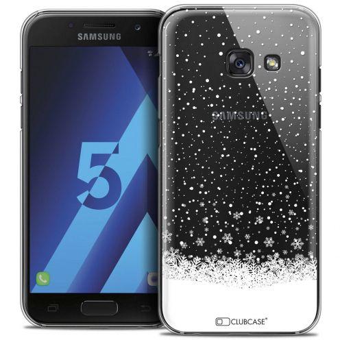 Coque Crystal Samsung Galaxy A5 2017 (A520) Extra Fine Noël 2016 - Flocons de Neige