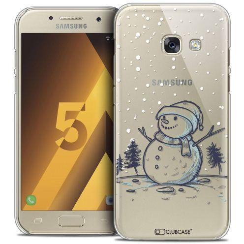 Coque Crystal Samsung Galaxy A5 2017 (A520) Extra Fine Noël 2016 - Bonhomme de Neige