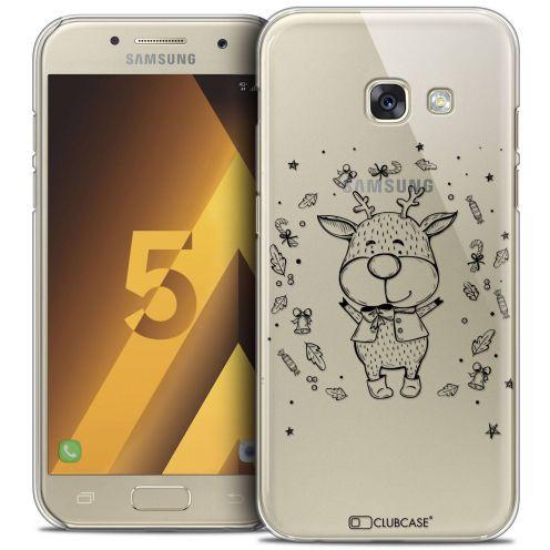 Coque Crystal Samsung Galaxy A5 2017 (A520) Extra Fine Noël 2016 - Sketchy Cerf