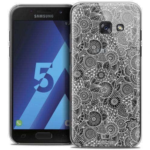 Coque Crystal Samsung Galaxy A5 2017 (A520) Extra Fine Dentelle Florale - Blanc