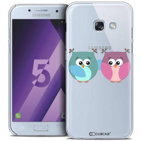 Coque Crystal Samsung Galaxy A5 2017 (A520) Extra Fine Love - Hibous à deux