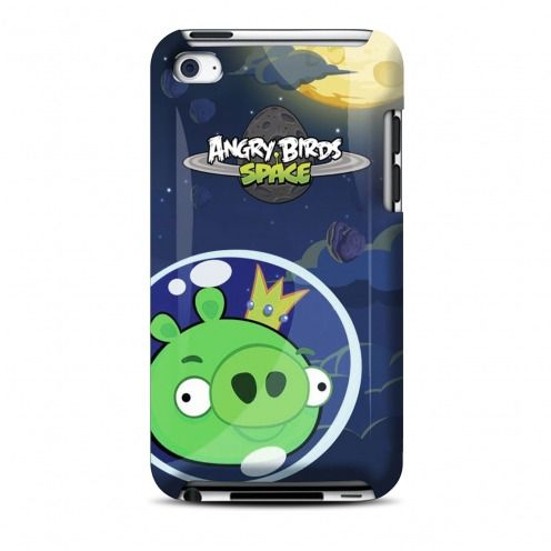 Carcasa Angry Birds Gear4® King Pig Space por iPod Touch 4