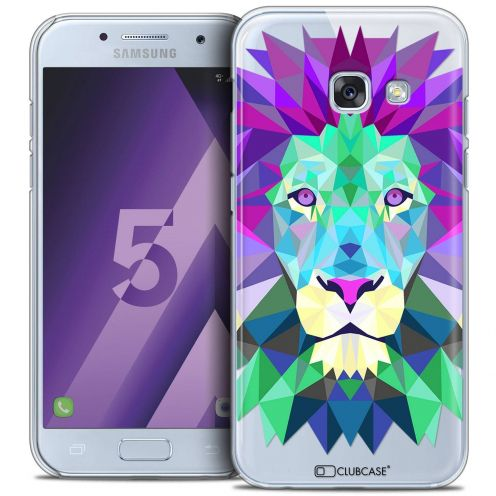 Coque Crystal Samsung Galaxy A5 2017 (A520) Extra Fine Polygon Animals - Lion