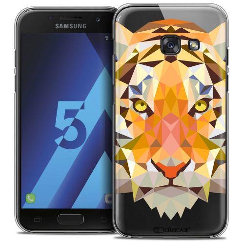 Coque Crystal Samsung Galaxy A5 2017 (A520) Extra Fine Polygon Animals - Tigre