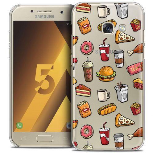 Coque Crystal Samsung Galaxy A5 2017 (A520) Extra Fine Foodie - Fast Food