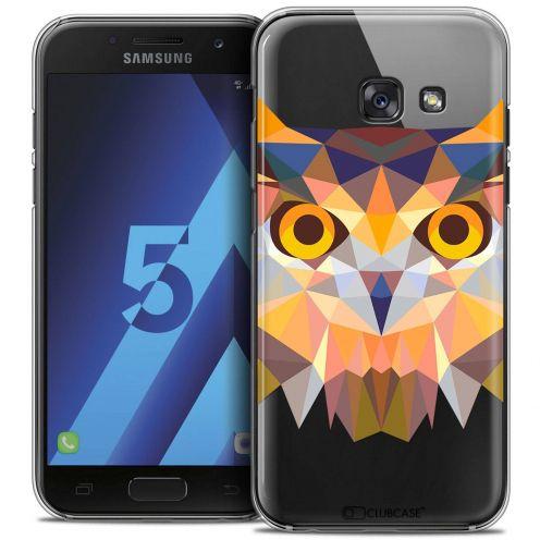 Coque Crystal Samsung Galaxy A5 2017 (A520) Extra Fine Polygon Animals - Hibou