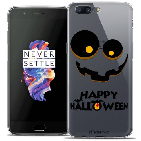 "Coque Crystal Gel OnePlus 5 (5.5"") Extra Fine Halloween - Happy"
