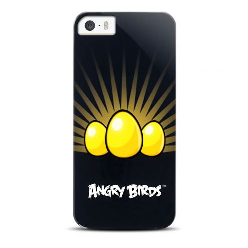 Carcasa Angry Birds Gear4® Yellow Eggs por iPhone 5/5S/SE