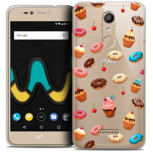 "Coque Crystal Gel Wiko U Pulse (5.5"") Extra Fine Foodie - Donuts"