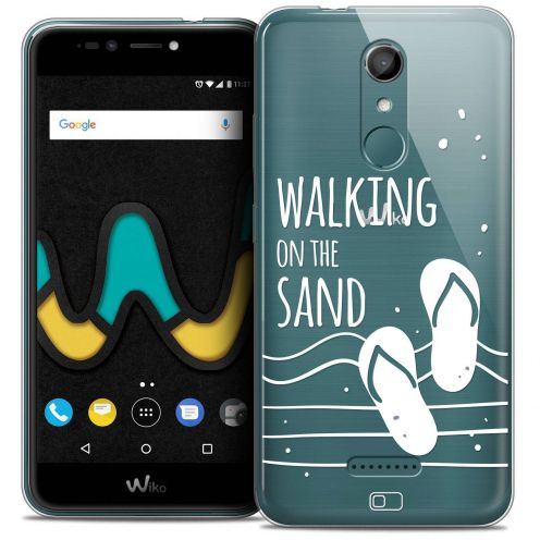"""Coque Crystal Gel Wiko U Pulse LITE (5.2"""") Extra Fine Summer - Walking on the Sand"""
