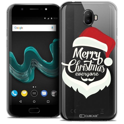 "Coque Crystal Gel Wiko Wim (5.5"") Extra Fine Noël 2017 - Merry Everyone"