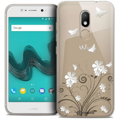 "Coque Crystal Gel Wiko Wim LITE (5.0"") Extra Fine Summer - Papillons"