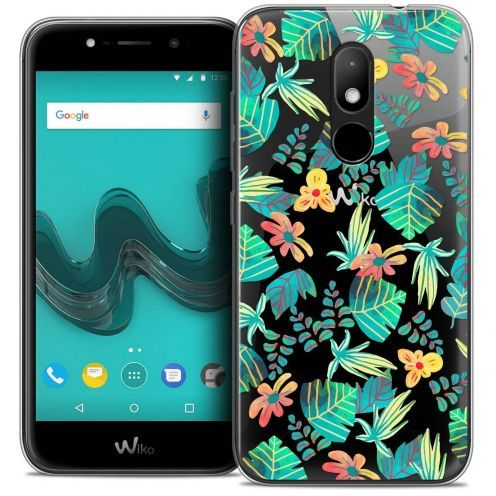 "Coque Crystal Gel Wiko Wim LITE (5.0"") Extra Fine Spring - Tropical"