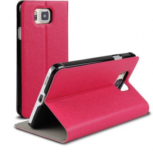 Funda FolioSlim & Stand Smart MagnetRosa para Samsung Galaxy Alpha