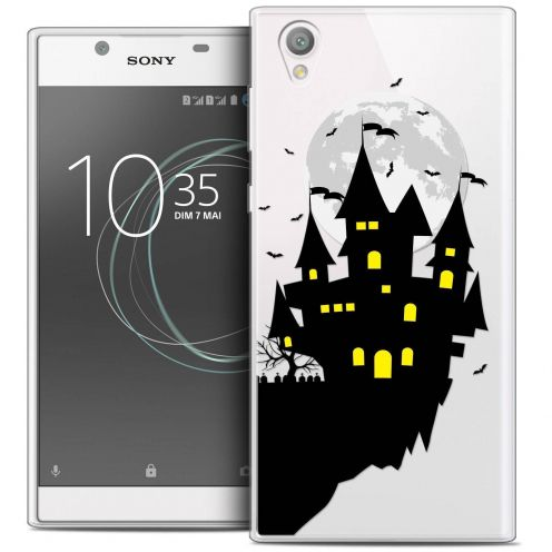 "Coque Crystal Gel Sony Xperia L1 (5.5"") Extra Fine Halloween - Castle Dream"