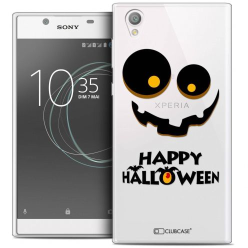 "Coque Crystal Gel Sony Xperia L1 (5.5"") Extra Fine Halloween - Happy"