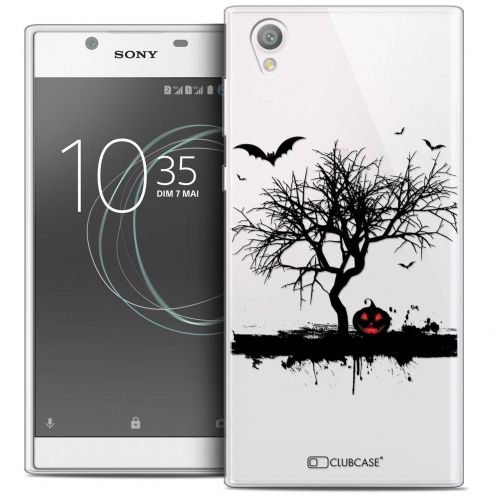 "Coque Crystal Gel Sony Xperia L1 (5.5"") Extra Fine Halloween - Devil's Tree"