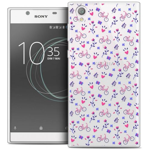 "Coque Crystal Gel Sony Xperia L1 (5.5"") Extra Fine Love - Bicycle"