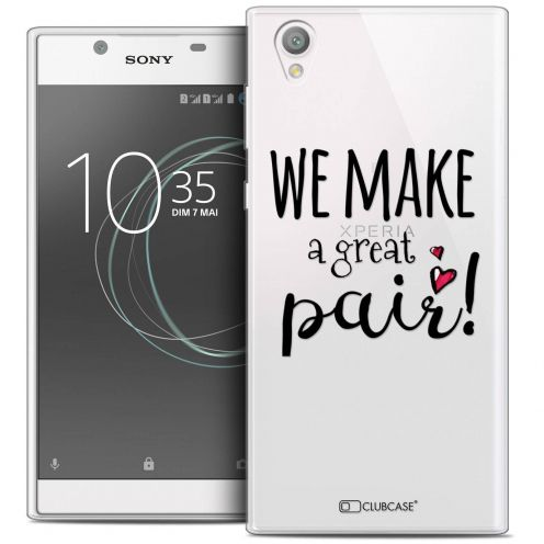 "Coque Crystal Gel Sony Xperia L1 (5.5"") Extra Fine Love - We Make Great Pair"