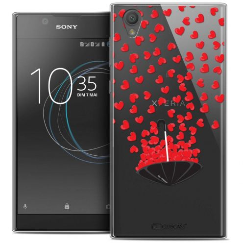 """Coque Crystal Gel Sony Xperia L1 (5.5"""") Extra Fine Love - Parapluie d'Amour"""