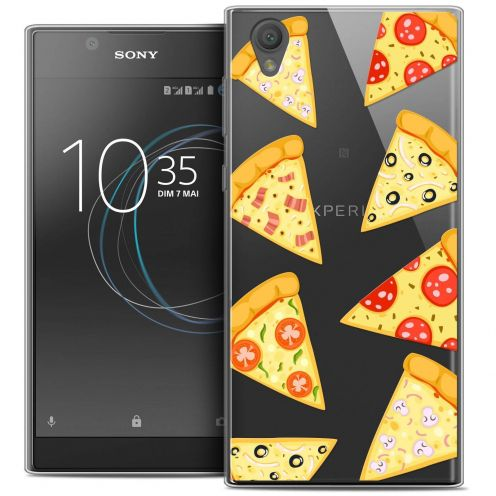 "Carcasa Crystal Gel Extra Fina Sony Xperia L1 (5.5"") Foodie Pizza"