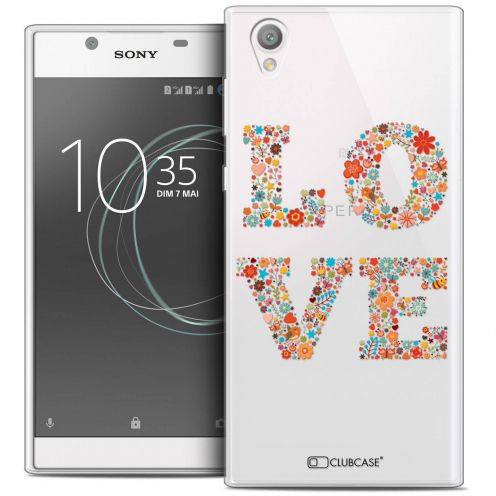 "Carcasa Crystal Gel Extra Fina Sony Xperia L1 (5.5"") Summer Love Flowers"