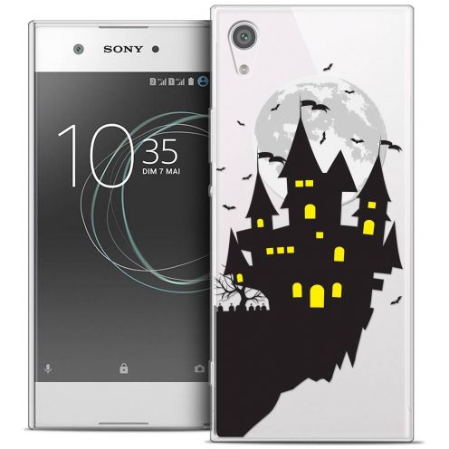 "Carcasa Crystal Gel Extra Fina Sony Xperia XA1 Ultra (6"") Halloween Castle Dream"