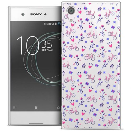 "Carcasa Crystal Gel Extra Fina Sony Xperia XA1 Ultra (6"") Love Bicycle"