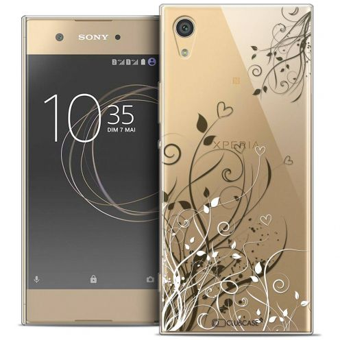 "Coque Crystal Gel Sony Xperia XA1 Ultra (6"") Extra Fine Love - Hearts Flowers"