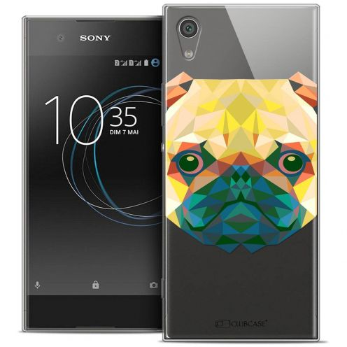 "Carcasa Crystal Gel Extra Fina Sony Xperia XA1 Ultra (6"") Polygon Animals Perro"