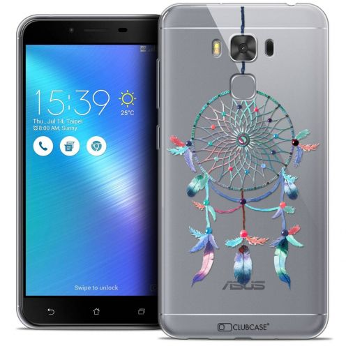"Coque Crystal Gel Asus Zenfone 3 Max Plus ZC553KL (5.5"") Extra Fine Dreamy - Attrape Rêves Rainbow"