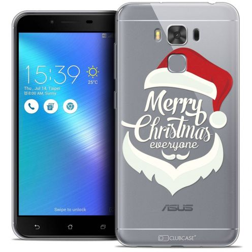"Coque Crystal Gel Asus Zenfone 3 Max Plus ZC553KL (5.5"") Extra Fine Noël 2017 - Merry Everyone"