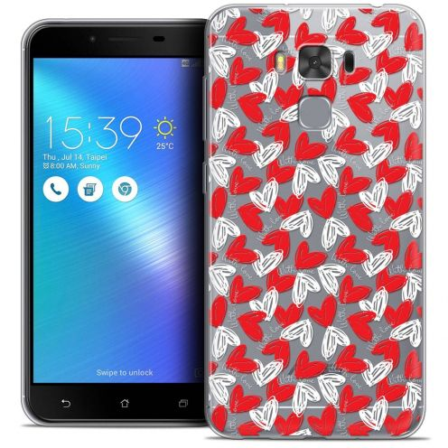 """Coque Crystal Gel Asus Zenfone 3 Max Plus ZC553KL (5.5"""") Extra Fine Love - With Love"""