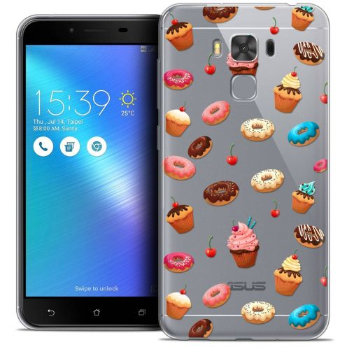 """Coque Crystal Gel Asus Zenfone 3 Max Plus ZC553KL (5.5"""") Extra Fine Foodie - Donuts"""