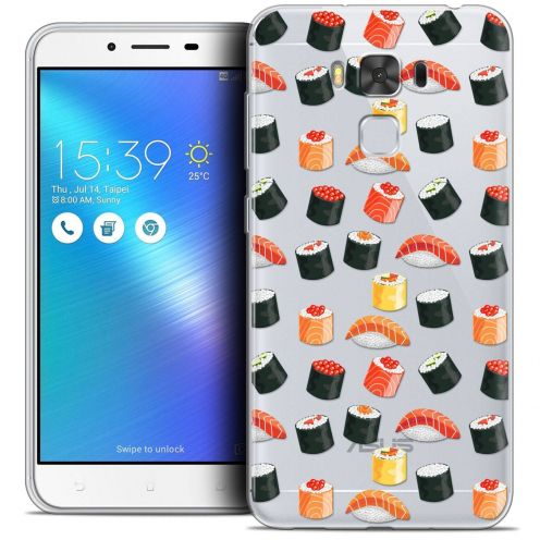 "Coque Crystal Gel Asus Zenfone 3 Max Plus ZC553KL (5.5"") Extra Fine Foodie - Sushi"