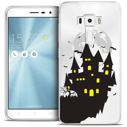 "Coque Crystal Gel Asus Zenfone 3 ZE520KL (5.2"") Extra Fine Halloween - Castle Dream"