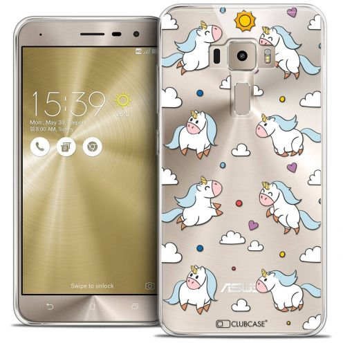 "Coque Crystal Gel Asus Zenfone 3 ZE520KL (5.2"") Extra Fine Fantasia - Licorne In the Sky"