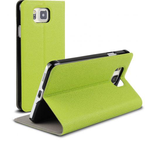 Funda FolioSlim & Stand Smart MagnetVerde para Samsung Galaxy Alpha