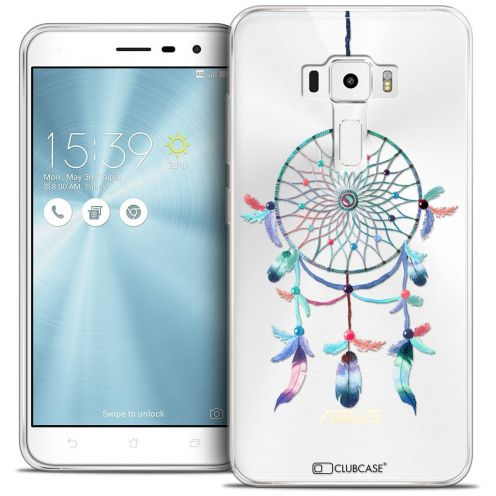 "Coque Crystal Gel Asus Zenfone 3 ZE520KL (5.2"") Extra Fine Dreamy - Attrape Rêves Rainbow"