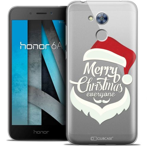 "Coque Crystal Gel Huawei Honor 6A (5"") Extra Fine Noël 2017 - Merry Everyone"