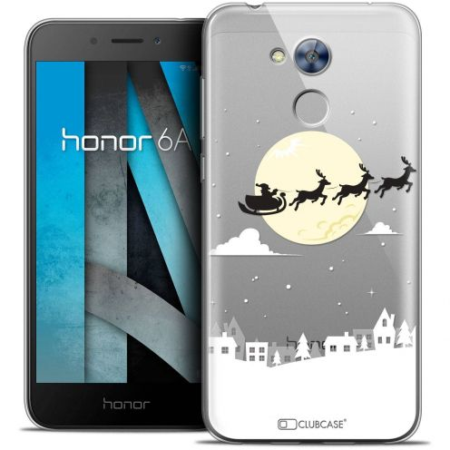 "Coque Crystal Gel Huawei Honor 6A (5"") Extra Fine Noël 2017 - Flying Stanta"